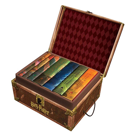 Harry Potter Boxed Set : Books # 1 to 7 - Scholastic US Version (Hardcover) (English Book)