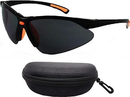 Kính râm chống bụi, chống tia cực tím Everest 302 - Kính đặc vụ ôm sát mắt ( Kính và hộp)