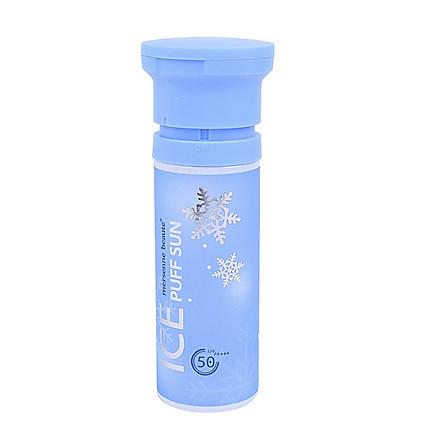 Kem Chống Nắng Make-up Mát Lạnh Mersenne Beaute Ice Puff Sun SPF50+PA+++ 100ml