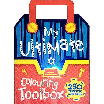 Sách tô màu My Ultimate Colouring Toolbox