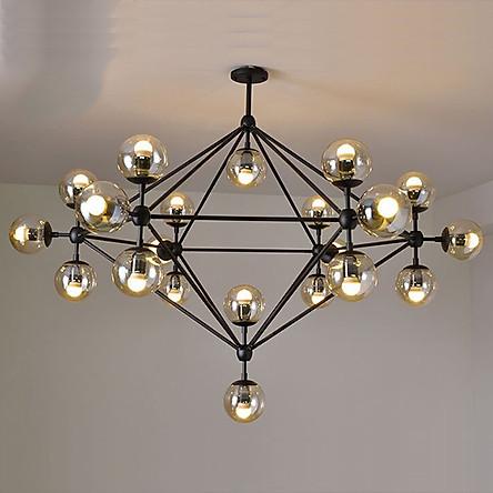 Đèn trần phòng khách đèn trang trí nội thất ORIC 21 bóng