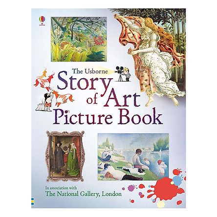 Usborne Story of Art Picture Book