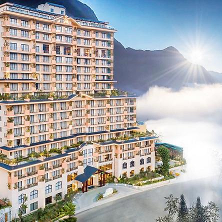 KK Sapa Hotel 5* - Buffet Sáng, Bể Bơi Bốn Mùa, View Thung Lũng Và Núi Đồi Cực Đẹp, Ngay Trung Tâm Thị Trấn