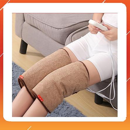 Đai khớp gối ngải cứu - Đai chườm nóng bằng điện, ruột bằng ngải cứu khô hỗ trợ giảm đau nhức xương khớp