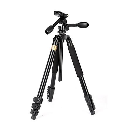 Chân máy ảnh quay phim 2 tay cầm QZSD Q620 chịu lực 15kg cao đến 183cm - Hàng chính hãng