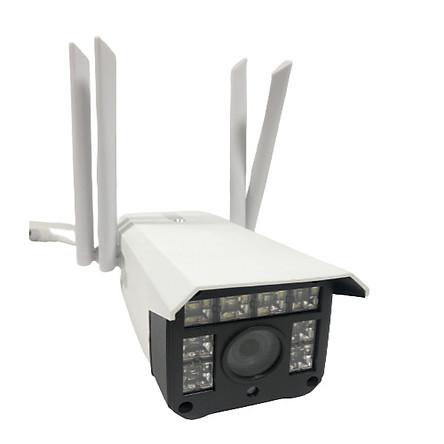 Camera wifi ngoài trời Carecam CV988H-V4 3.0 Mpx Full HD, 4 râu, đàm thoại 2 chiều, hỗ trợ thẻ nhớ lên đến 128G, cảnh báo chống trộm, chống nước IP68, xem đêm có màu– Hàng nhập khẩu