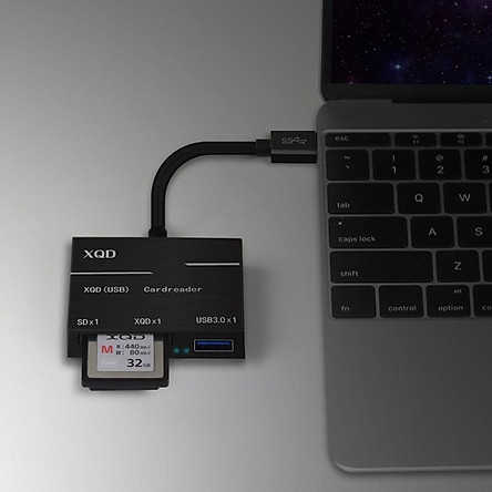 Type-C To XQD/SD Card High Speed Card Reader USB3.0 High Speed Camera Computer Kit Adapter for Sony G Series Lexar XQD Cards