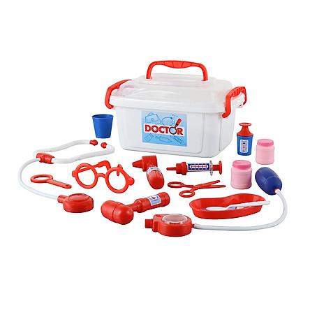 Bộ đồ chơi bác sĩ kèm hộp đựng – Polesie Toys