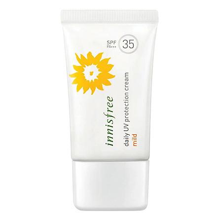 Kem Chống Nắng Hàng Ngày Innisfree Daily Uv Protection Cream Mild Spf35 (50ml)