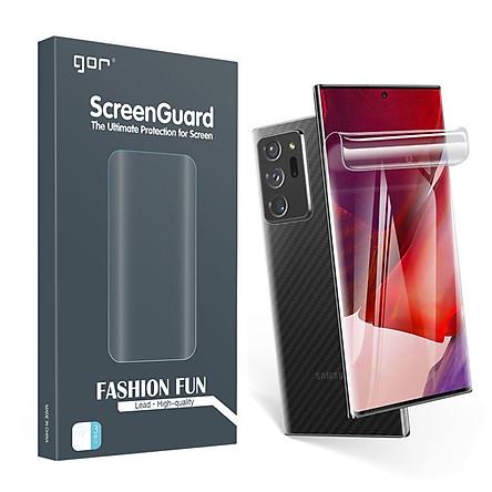 Miếng Dán Dẻo GOR dành cho Samsung Galaxy Note 20 Ultra (Bộ 3 Miếng Dán) - Hàng Nhập Khẩu