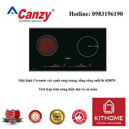 Combo Bếp Điện Từ Canzy CZ 06H + Attomat Cao Cấp - Hàng Chính Hãng