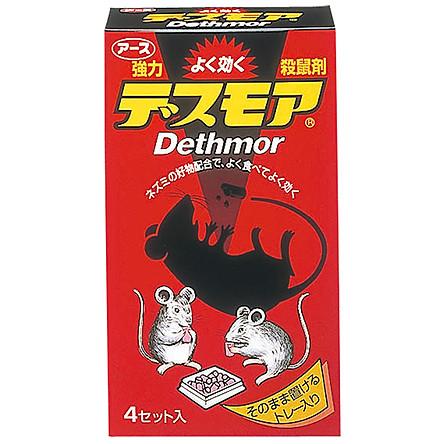 Thuốc diệt chuột Dethmor dạng viên nội địa Nhật Bản