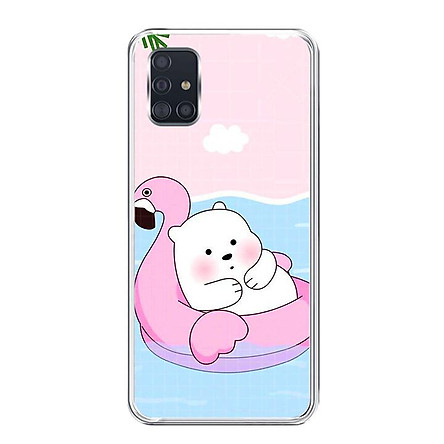 Ốp lưng điện thoại Samsung Galaxy A51 - Silicon dẻo - 0056 RELAX01 - Hàng Chính Hãng