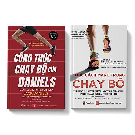 Sách - Combo Thể Thao - Chạy bộ - Công thức Chạy Bộ của Daniels +Cuộc Cách Mạng Trong Chạy Bộ - Pandabooks