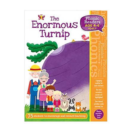 Phonic Readers Age 4-6 Level 2: The Enormous Turnip