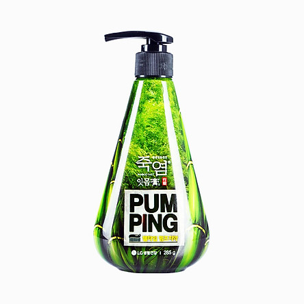 Korea LG Bamboo Salt Pumping Toothpaste - Itmomgo