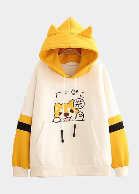 Áo hoodie nam in hình Cún dễ thương - DS40