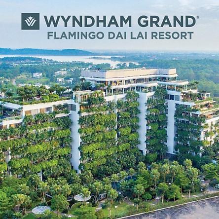 [Gói Kích Cầu] Wyndham Grand Flamingo Đại Lải 5* - Buffet Sáng, Hồ Bơi, Jacuzzi, Trò Chơi Thực Tế Ảo, Xe Đưa Đón 02 Chiều Từ Hà Nội