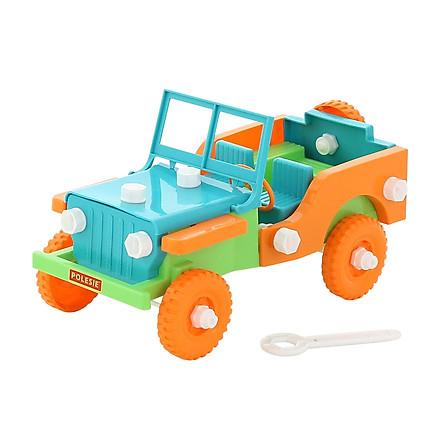 Bộ lắp ghép xe Jeep Retro 42 mảnh – Cavallino Toys