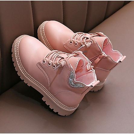 Giày bốt cho bé gái Phong Cách Hàn Quốc TL35