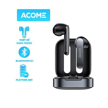 ACOME Airdots T3 Tai Nghe TWS Bluetooth Không Dây ACOME T3 Kiểu Dáng Gaming [Hàng Chính Hãng]