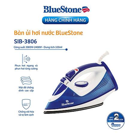 Bàn Ủi Hơi Nước Bluestone SIB-3806 - Hàng chính hãng