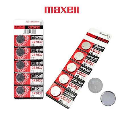 Combo 10 viên pin CR2032 Maxell Nhật Bản