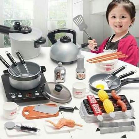 Bộ đồ chơi nấu ăn 36 món kèm thức ăn