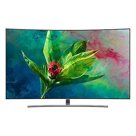 Smart Tivi Cong QLED Samsung 4K 55 inch QA55Q8CNA