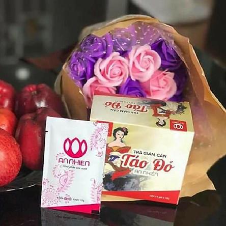 Thực phẩm bảo vệ sức khỏe - Trà giảm béo táo đỏ An Nhiên