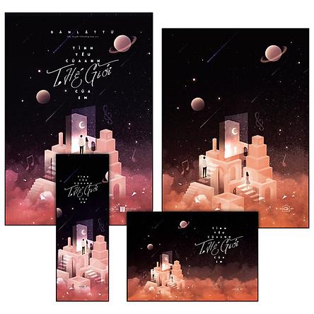 Tình Yêu Của Anh, Thế Giới Của Em(Tặng Kèm: Bookmark + Postcard + Poster)