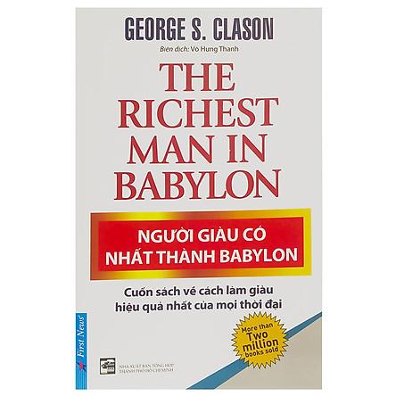 Người Giàu Có Nhất Thành Babylon (Tái Bản 2019)