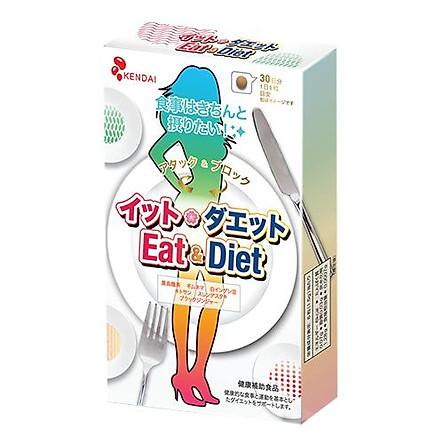 TPBVSK Kendai Eat & Diet - Hỗ trợ Giảm cân, hạn chế hấp thu chất béo (180 viên)