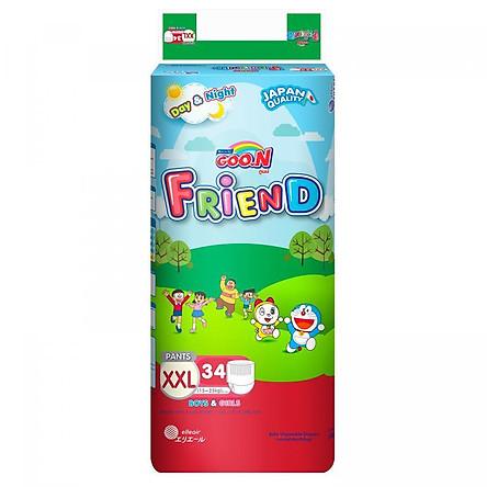 Tã Quần Goo.n Friend Gói Cực Đại XXL34 (34 Miếng)