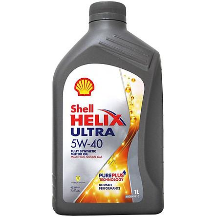 Nhớt Động Cơ Xe Tay Ga Shell Ultra Helix 5W40 API SN 1 Lít