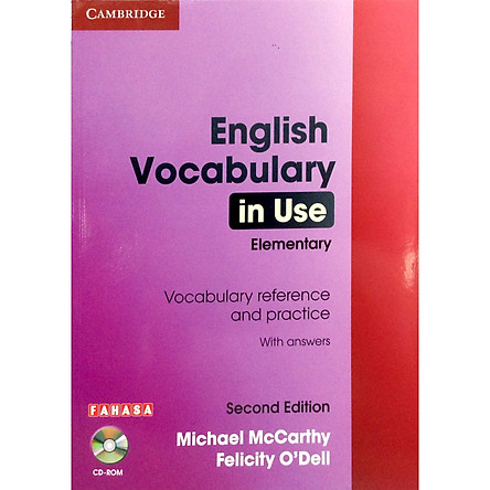 English Vocabulary in Use: Elementary Book with Answers Reprint Edition: Vocabulary Reference and Practice (CD-ROM)