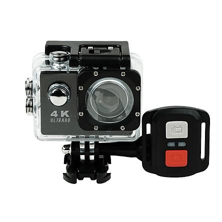 Camera Hành Trình Chống Nước 4K SPORT Ultra HD DV, Kết Nối Wifi Chống Rung Hỗ Trợ Quay Ban Đêm PKCB M16 Đen- Hàng Chính Hãng