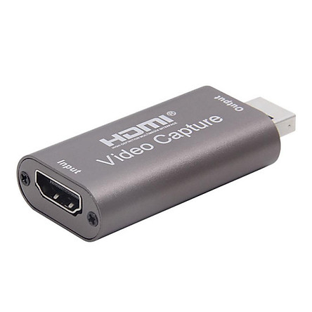 Capture Card USB 3.0 Video Capture Card 1080P HDMI to USB Adaptor HD Game Capture Streaming Devices for Live Broadcast