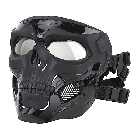 Skeleton Messenger Mask CS Full Face Protective Mask COSPLAY Army Fan Field Tactical Equipment Adaptation FAST CP
