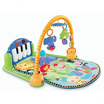 Bộ thảm nằm chơi có nhạc kèm đồ chơi và piano cho bé sơ sinh