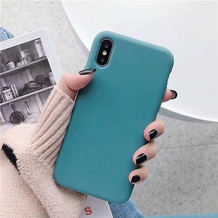 Ốp lưng silicon dẻo màu dành cho điện thoại Iphone 6/ 6S/ 6Plus/ 6S Plus/ 7/ 7 Plus/ 8/ 8 Plus/ X/ XS Max/ XR - Ốp chống bẩn, chống bám vân tay - Hàng chính hãng