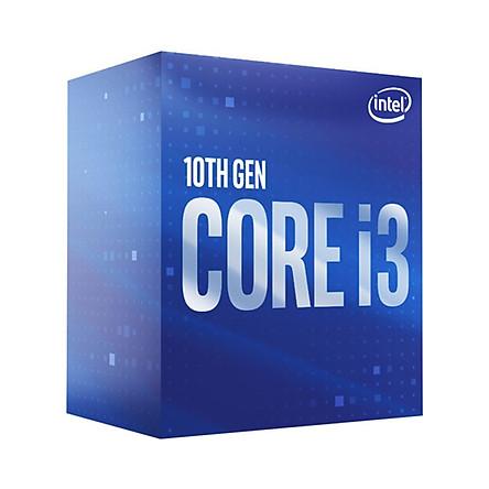 Bộ vi xử lý CPU Intel i3 - 10100 ( 3.6GHz Turbo up to 4.3GHz , 4 Core , 8 Threads , 6MB Cache , 65W ) - Hàng Chính Hãng