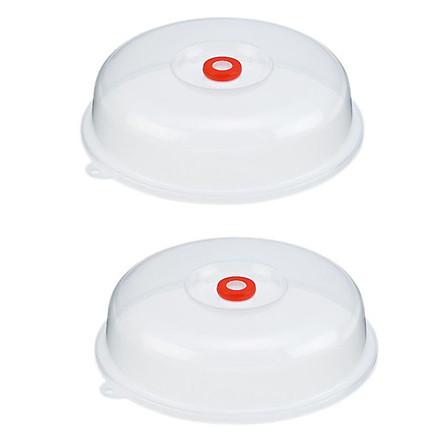 Combo 2 nắp đậy dùng cho lò vi sóng nội địa Nhật Bản