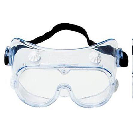Kính bảo hộ mắt chuyên dụng chống hóa chất, bụi và chống tia UV 3M 334-40660