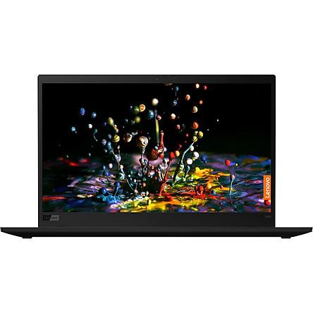 Laptop Lenovo ThinkPad X1 Carbon 7 20R1S00100 (Core i5-10210U/ 8GB LPDDR3 2133MHz/ 256GB SSD M.2 PCIe NVMe/ 14 WQHD IPS/ Win10) - Hàng Chính Hãng