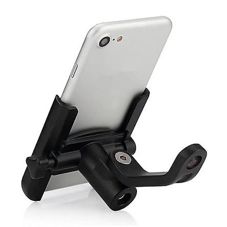 Giá đỡ kẹp điện thoại S500 dành cho xe máy, xe mô tô siêu cứng, chống trộm, chống rung lắc, tháo lắp dễ dàng - Hàng nhập khẩu