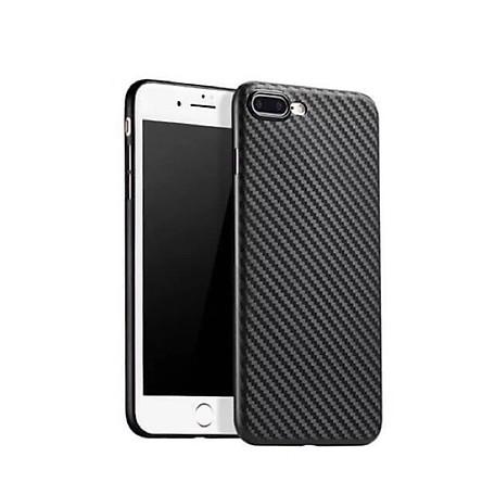 Ốp lưng vân Carbon dành cho Apple iPhone 6Plus/6sPlus 7Plus/8Plus - Hàng chính hãng