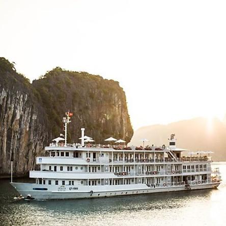 Du thuyền 5* Âu Cơ - tour 2 ngày 1 đêm vịnh Hạ Long