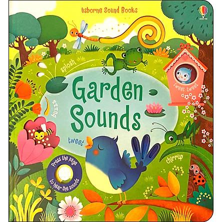 Usborne Garden Sounds (Touchy-feely Sound Books)