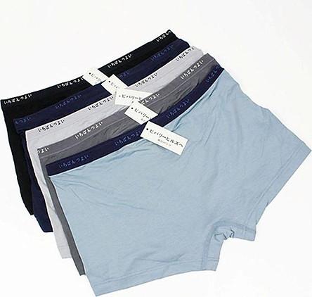 Bộ 5 quần đùi lót nam xuất Nhật chất lụa cao cấp